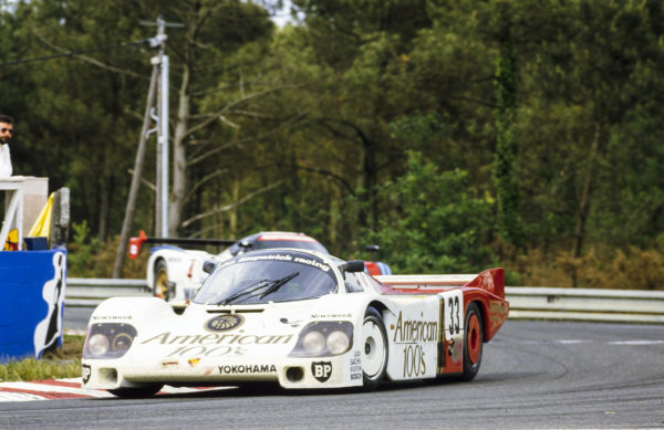 Jo Gartner / David Hobbs / Guy Edwards, John Fitzpatrick Racing, Porsche 956B
