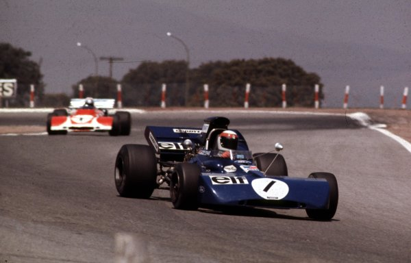 1972 South African Grand Prix.Kyalami, South Africa.2-4 March 1972.Jackie Stewart (Tyrrell 003 Ford).Ref-72 SA 02.World Copyright - LAT Photographic