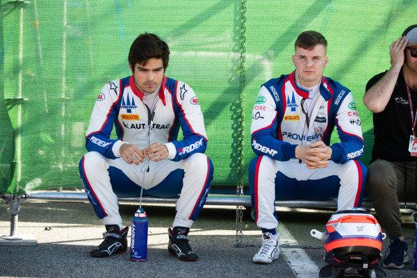 Pedro Piquet (BRA, Trident) and Niko Kari (FIN, Trident)