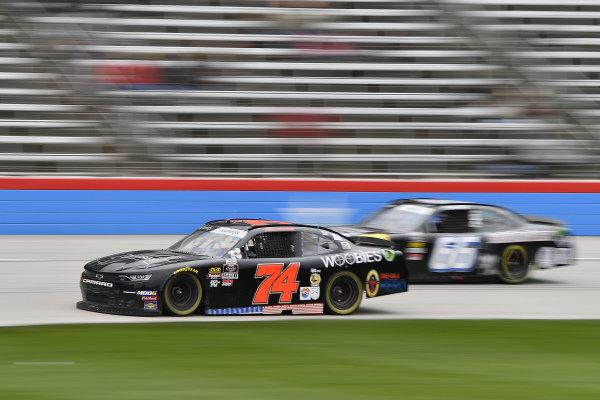 #74: Mike Harmon, Mike Harmon Racing, Chevrolet Camaro Woobies Shoes