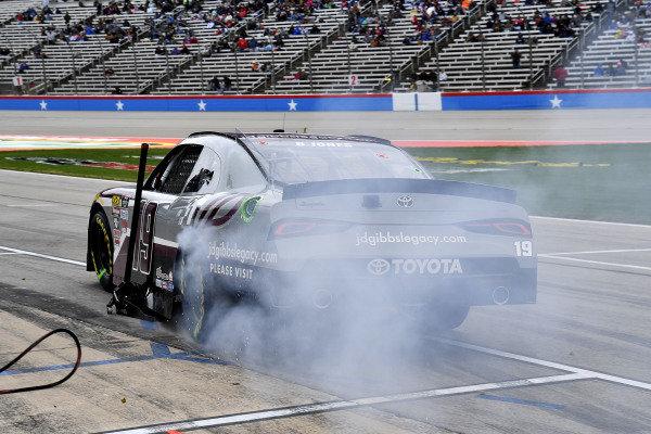 #19: Brandon Jones, Joe Gibbs Racing, Toyota Supra jdgibbslegacy.com