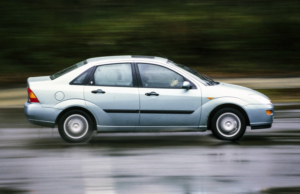 Ford Focus Saloon.