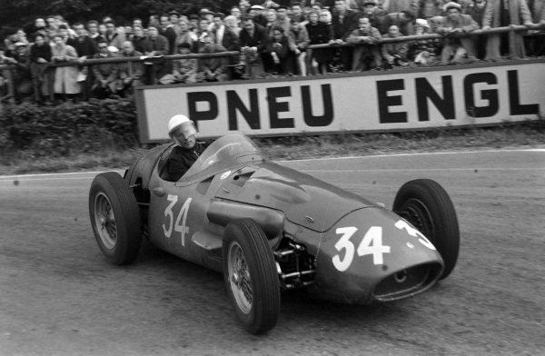 Cesare Perdisa/Stirling Moss, Maserati 250F.