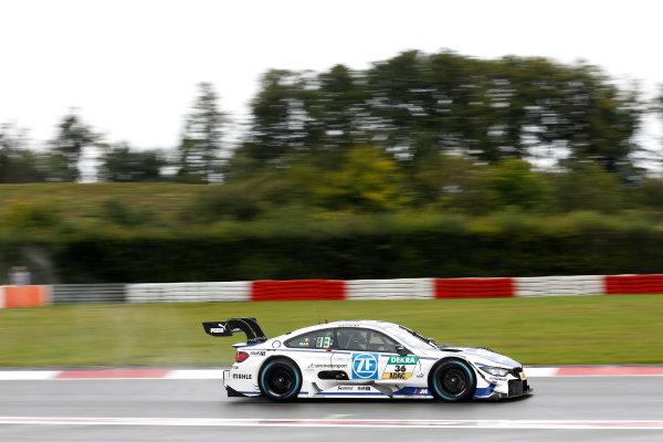 2017 DTM Round 7  Nürburgring, Germany  Saturday 9 September 2017. Maxime Martin, BMW Team RBM, BMW M4 DTM  World Copyright: Alexander Trienitz/LAT Images ref: Digital Image 2017-DTM-Nrbg-AT1-0730