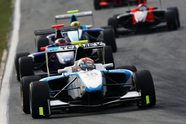 Pablo Sanchez Lopex (MEX) Addax Team. GP3 Series, Rd 5, Race 2, Hockenheim, Germany, Sunday 25 July 2010.