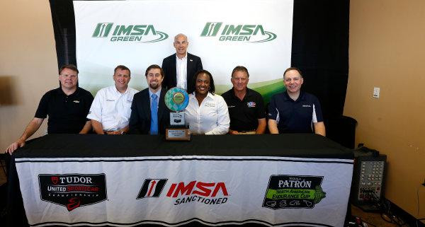 12-15  March, 2014, Sebring, Florida, USA IMSA Green press conference © 2014, Michael L. Levitt LAT Photo USA