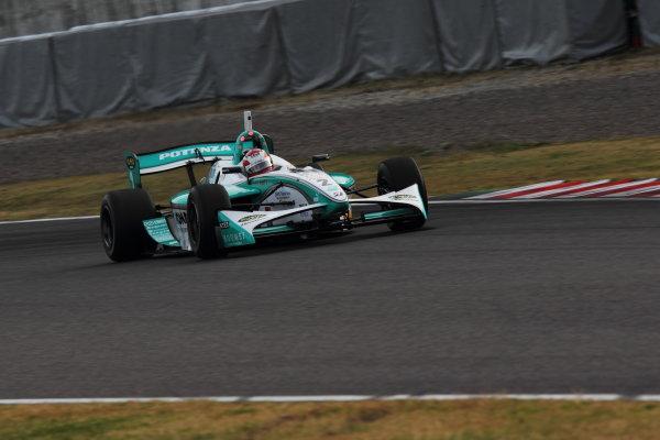 Suzuka Circuit, Japan. Rd 7 - 3rd - 4th November 2012. Race 2 Winner Kazuki Nakajima ( #2 PETRONAS TEAM TOM'S ) action World Copyright: Yasushi Ishihara/LAT Photographic ref: Digital Image 2012FN_Rd7_017