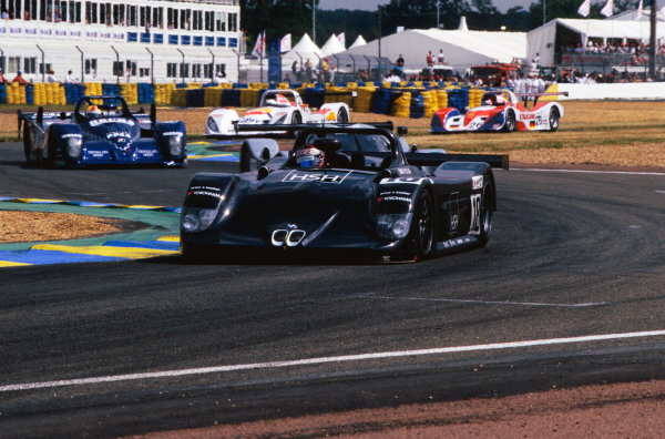 1999 Le Mans 24 Hours. Le Mans, France. 12th - 13th June 1999. Steve Soper/Thomas Bscher/Bill Auberlen (BMW V12 LM), 5th position, action.  World Copyright: LAT Photographic. Ref:  99LM53
