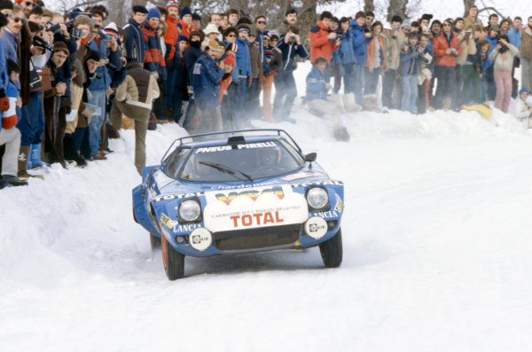 Monte Carlo Rally, Monaco. 19-25 January 1980.