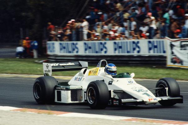 1983 Italian Grand Prix  Monza, Italy. 9-11 September 1983.  Keke Rosberg, Williams FW08C Ford, 11th position.  Ref: 83ITA01. World Copyright: LAT Photographic