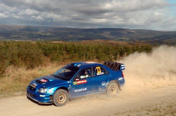 Afbeeldingsresultaat voor 2005 kris meeke Rally GB subaru
