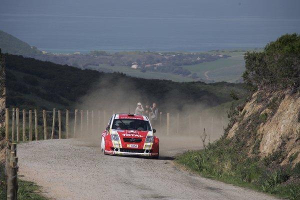 FIA World Rally Championship 2006Round 5Rally of France, Tour de Corse7th - 9th April 2006Kris Meeke, Citroen, action.World Copyright: LAT/McKlein