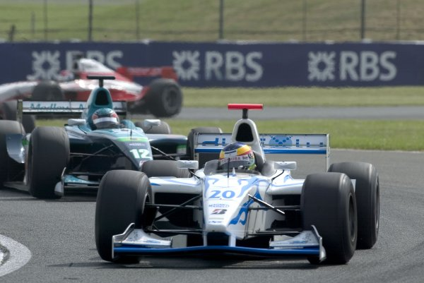 2006 GP2 Series Round 6. Silverstone, England. 11th June 2006. Sunday race. Olivier Pla (FRA, DPR Direxiv).  Action.   World Copyright: Alastair Staley/GP2 Series Media Service. Ref: Digital Image Only F0AA0247