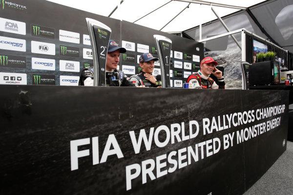 2014 FIA World Rallycross Championship Round 10 Franciacorta, Italy 27th & 28 th September 2014 Richard Goransson, Timmy Hansen, Petter Solberg, portrait Worldwide LAT / McKlein