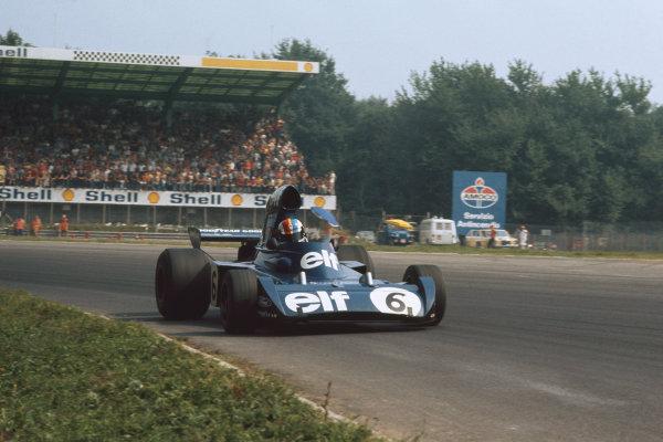 1973 Italian Grand Prix.  Monza, Italy. 7-9th September 1973.  Fran?ois Cevert, Tyrrell 006 Ford.  Ref: 73ITA23. World copyright: LAT Photographic