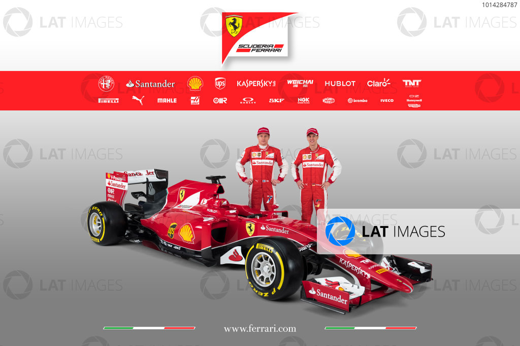 Ferrari SF15-T Reveal