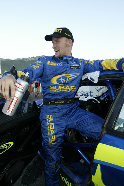 2004 FIA World Rally Champs. Round seven, Rally Turkey.24th- 27th June 2004.Petter Solberg, Subaru, portrait.World Copyright: McKlein/LAT