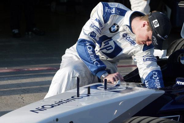 2003 San Marino Grand Prix - Friday 1st QualifyingImola, Italy. 18th April 2003Ralf Schumacher, BMW Williams FW25.World Copyright: Steve Etherington/LAT Photographic ref: Digital Image Only