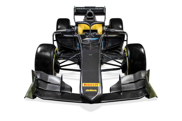 Autodromo Nazionale di Monza, Italy. Tuesday 22 August 2017 Studio image of the new 2018 F2 car. Photo: Zak Mauger/FIA Formula 2 ref: Digital Image 3_IMG_0104