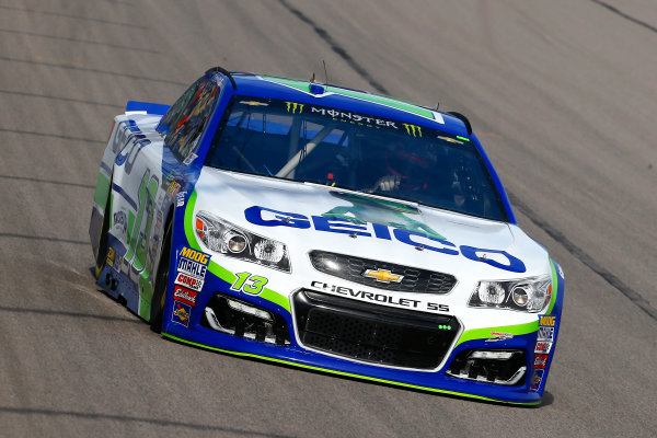 Monster Energy NASCAR Cup Series Hollywood Casino 400 Kansas Speedway, Kansas City, KS USA Friday 20 October 2017 Ty Dillon, Germain Racing, GEICO Chevrolet SS World Copyright: Russell LaBounty LAT Images