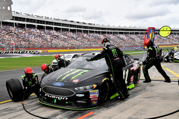 Monster Energy NASCAR Cup Series Bank of America 500 Charlotte Motor Speedway, Concord, NC Sunday 8 October 2017 Kurt Busch, Stewart-Haas Racing, Monster Energy/Haas Automation Ford Fusion World Copyright: Rusty Jarrett LAT Images