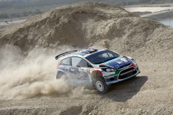 Round 04 Rally Jordan. 14th-16th April 2011.Bernardo Sousa, Ford WRC, Action.Worldwide Copyright: McKlein/LAT