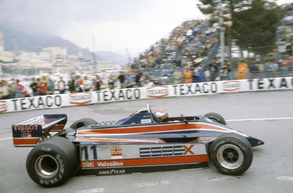 1980 Monaco Grand Prix.Monte Carlo, Monaco. 15-18 May 1980.Mario Andretti (Lotus 81-Ford Cosworth), 7th position.World Copyright: LAT PhotographicRef: 35mm transparency 80MON24