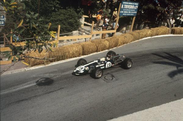 Monte Carlo, Monaco. 23-26 May 1968.  Dan Gurney (Eagle T1G Weslake).  Ref: 68MON05. World Copyright: LAT Photographic
