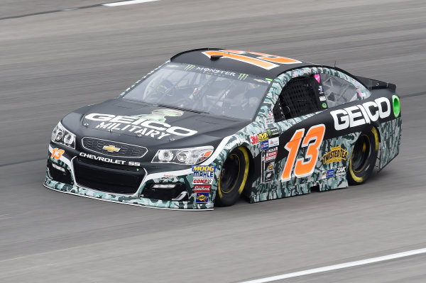 Monster Energy NASCAR Cup Series AAA Texas 500 Texas Motor Speedway Fort Worth, TX USA Friday 3 November 2017 Ty Dillon, Germain Racing, GEICO Military Chevrolet SS World Copyright: John K Harrelson LAT Images