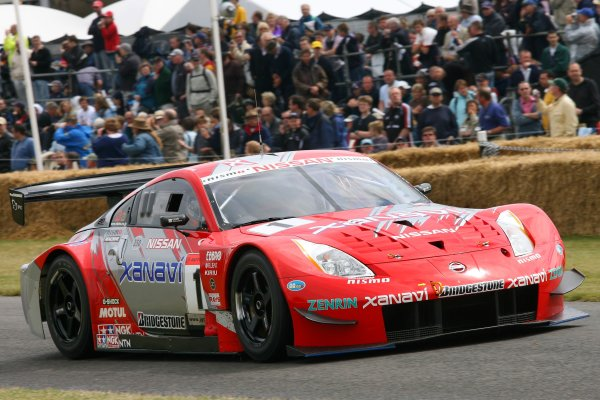 2006 Goodwood Festival of Speed.Goodwood Estate, West Sussex. 7th - 9th July 2006.Richard Lyons, Nissan 350z, World Copyright: LAT Photographic.ref: Digital Image Only.