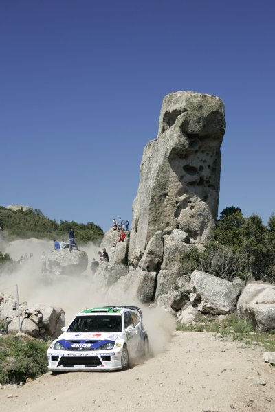 2005 FIA World Rally Championship Round 5, Rally of Italy, Sardinia. 29th - 1st May April 2005.xxxWorld Copyright: Mcklein/LAT PhotographicRef: Digital Image Only.