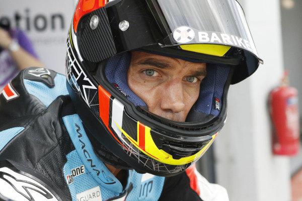 2015 MotoGP Championship.  British Grand Prix.  Silverstone, England. 28th - 30th August 2015.  Alex De Angelis, Ioda ART.  Ref: KW7_5593a. World copyright: Kevin Wood/LAT Photographic