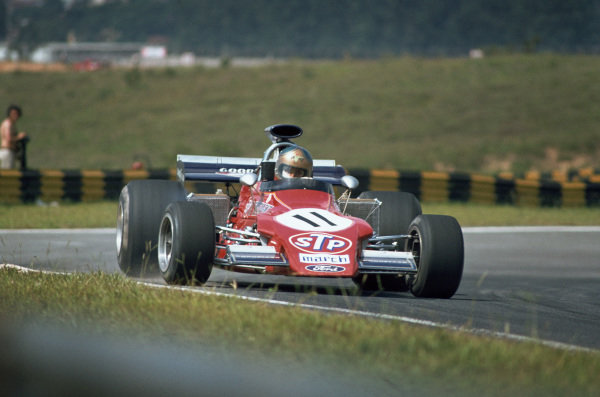 1973 Brazilian Grand Prix.  Interlagos, Sao Paulo, Brazil. 9-11th February 1973.  Jean-Pierre Jarier, March 721G Ford.  Ref: 73BRA12. World Copyright: LAT Photographic