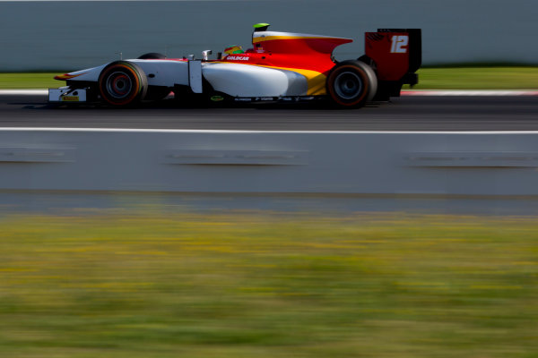 Circuit de Barcelona Catalunya, Barcelona, Spain. Tuesday 14 March 2017. Roberto Merhi (ESP, Campos Racing). Action.  Photo: Alastair Staley/FIA Formula 2 ref: Digital Image 585A8777