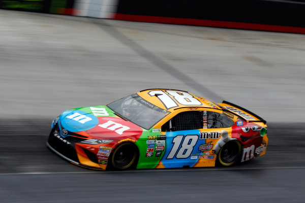 Monster Energy NASCAR Cup Series Food City 500 Bristol Motor Speedway, Bristol, TN USA Friday 21 April 2017 Kyle Busch, M&M's Toyota Camry World Copyright: Lesley Ann Miller LAT Images