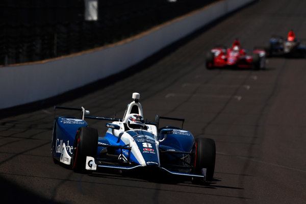 Verizon IndyCar Series Indianapolis 500 Practice Indianapolis Motor Speedway, Indianapolis, IN USA Monday 22 May 2017 Max Chilton, Chip Ganassi Racing Teams Honda World Copyright: Phillip Abbott LAT Images