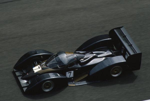 1993 Le Mans 24 Hours. Le Mans, France. 19th - 20th June 1993. Robs Lamplough/Olivier Leclere/Jean-Louis Ricci/Jean-Francois Veroux (Allard J2X-C), practice only, did not race, action. World Copyright: LAT Photographic. Ref:  93LM28
