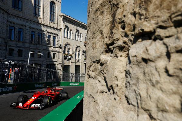 Kimi Raikkonen, Ferrari SF70H.