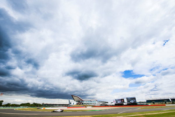 Silverstone, Northamptonshire, UK.  Friday 14 July 2017. Lance Stroll, Williams FW40 Mercedes. World Copyright: Charles Coates/LAT Images  ref: Digital Image AN7T4931