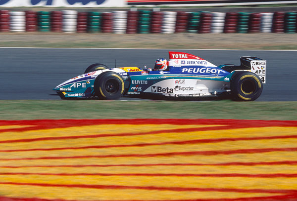 Suzuka, Japan. 27th - 29th October 1995.