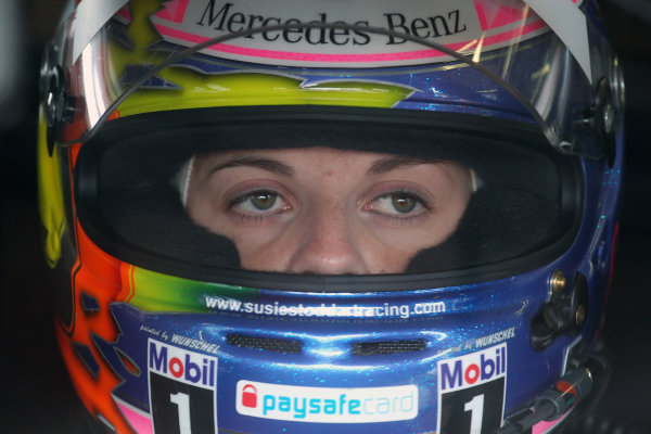 Susie Stoddart (GBR) TV Spielfilm AMG Mercedes.DTM, Rd7, Brands Hatch, England, 3-5 September 2010.World Copyright: LAT Photographicref: dne1004se73