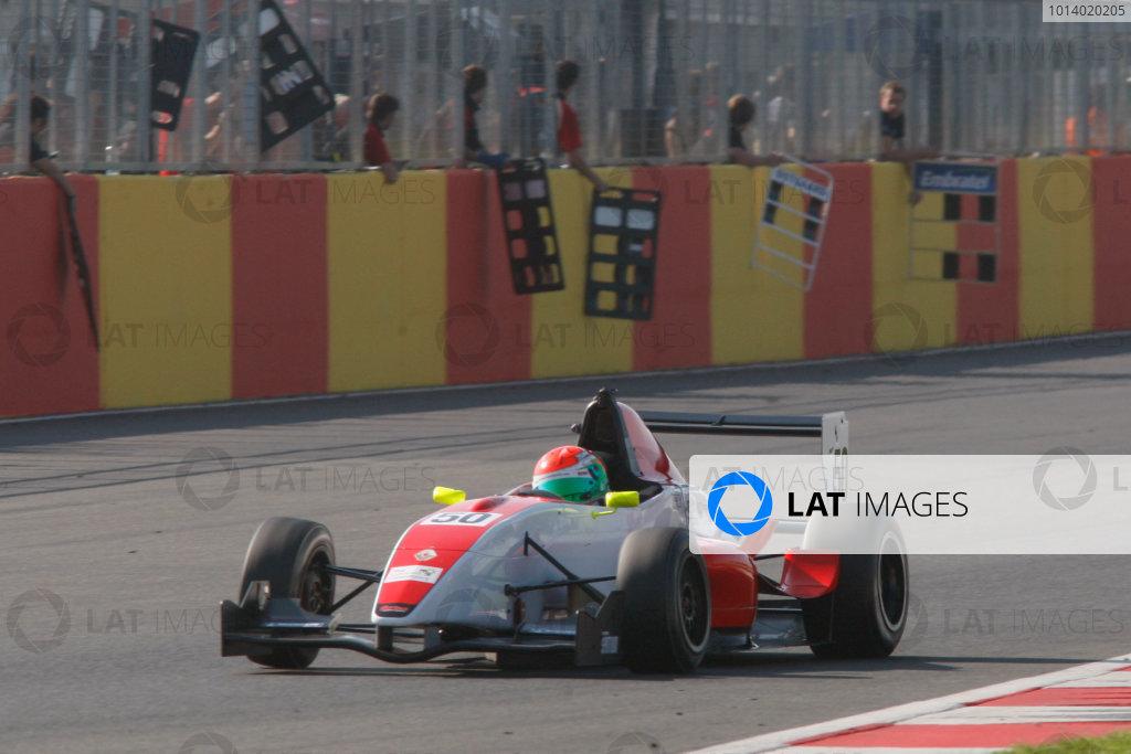 Sam MacLeod (GBR) Fortec Formula Renault
