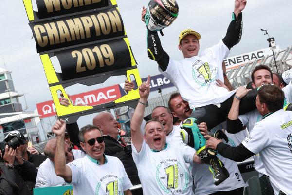 World champion Lorenzo Dalla Porta, Leopard Racing
