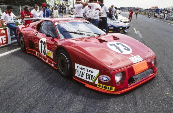 Preston Henn / Randy Lanier / Denis Morin, N.A.R.T., Ferrari 512 BB/LM.