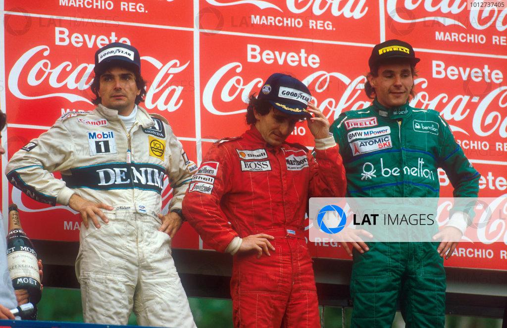 1986 San Marino Grand Prix.