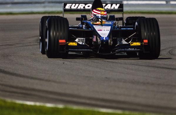 Alex Yoong, Minardi PS01B European.