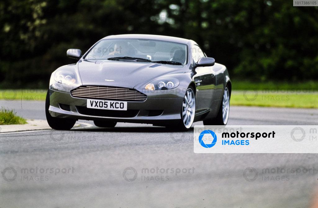 Aston Martin DB9 Manual.