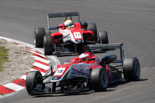 2013 Masters of Formula Three, Zanvoort, 7th July 2013. Luis Felipe Derani (BRA) Fortec Motorsports Dallara F312 Mercedes World Copyright: Essay/Ebrey/LAT Photographic