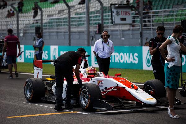 2016 GP3 Series Round 8 Sepang, Kuala Lumpur, Malaysia. Sunday 2 October 2016. Charles Leclerc (FRA, ART Grand Prix)  Photo: Sam Bloxham/GP3 Series Media Service. ref: Digital Image _SLA4576