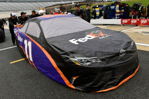 30 September-2 October, 2016, Dover, Delaware USA Denny Hamlin, FedEx Ground Toyota Camry ? 2016, Nigel Kinrade LAT Photo USA